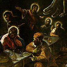 La última cena (detalle)