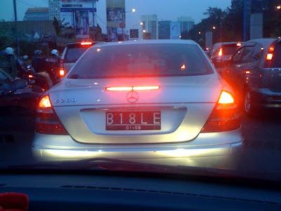 Daftar Plat Nomor Lengkap di Indonesia Bible-car