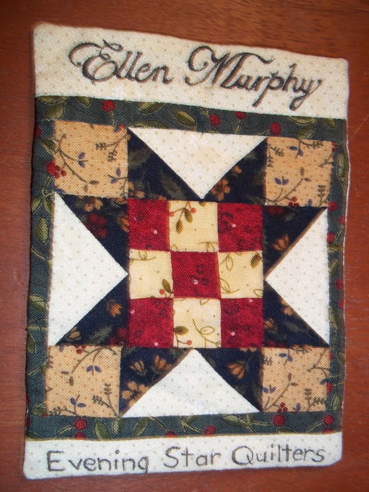 American Homestead: Evening Star Quilt Guild ~ January 2011 : quilt guild games - Adamdwight.com