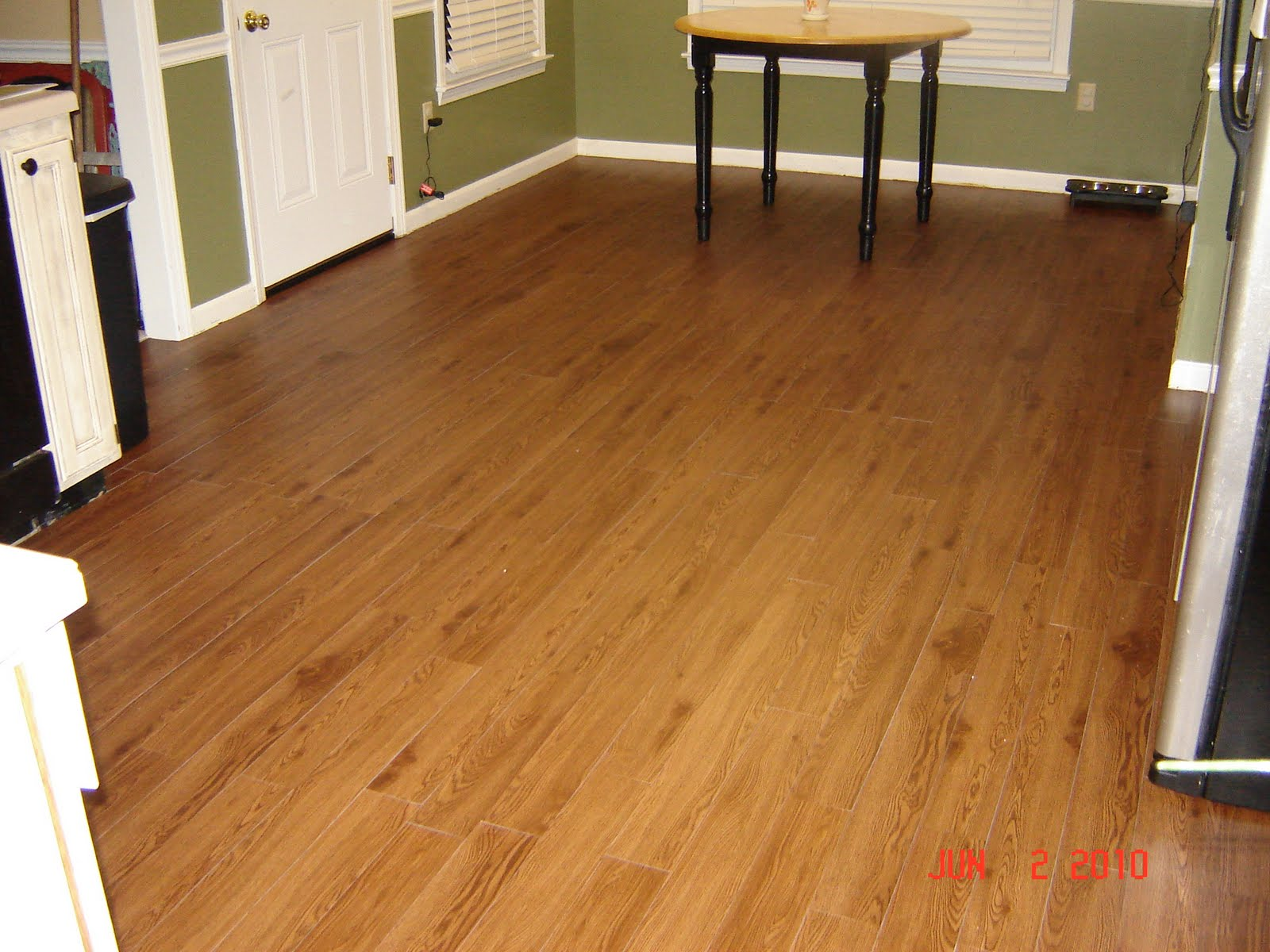 Creating Balance Peel & Stick Hardwood Floor