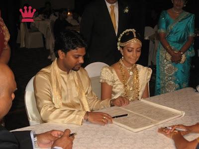 Sri Lankan Actress Wedding Albums