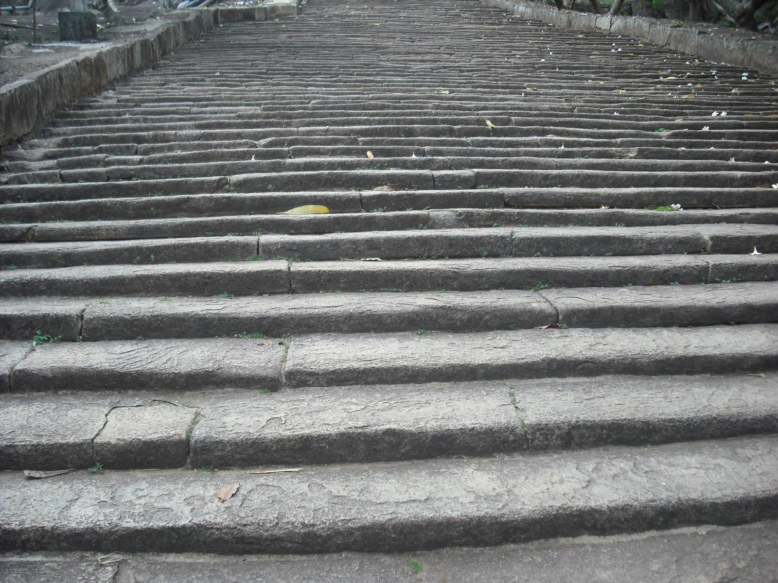 Images of Sri Lanka: Mihinthalaya - Steps Steps