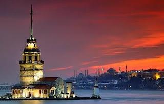 istanbul , turkey, kiz kulesi