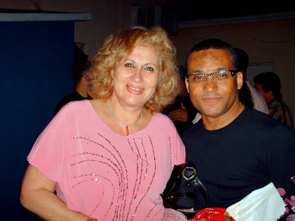 Con Gonzalito Rubalcaba