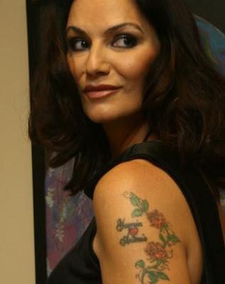 Tatuagem Luiza Brunet