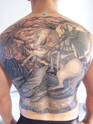 Tattoo de São Jorge