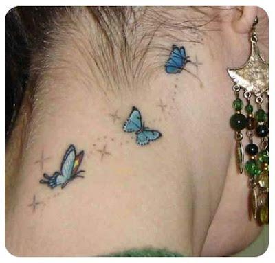 tattoo de borboletas. tattoo de orboletas.