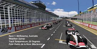 Race 1: Melbourne, Australia
