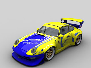 Dean Williams Porsche 911 Render