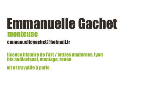 Emmanuelle Gachet