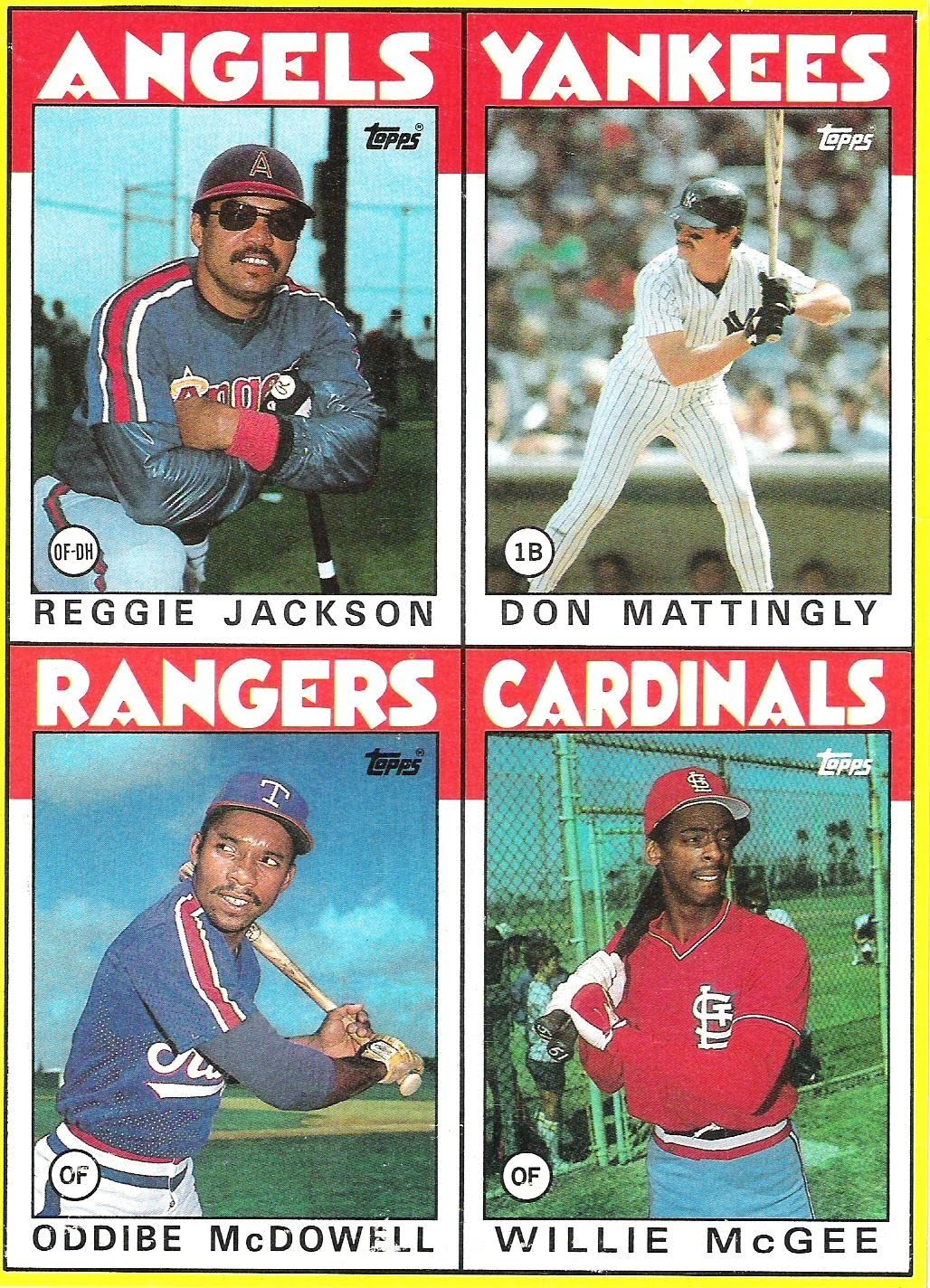 the fleer sticker project 1986 topps u0026 opc box bottom cards panels