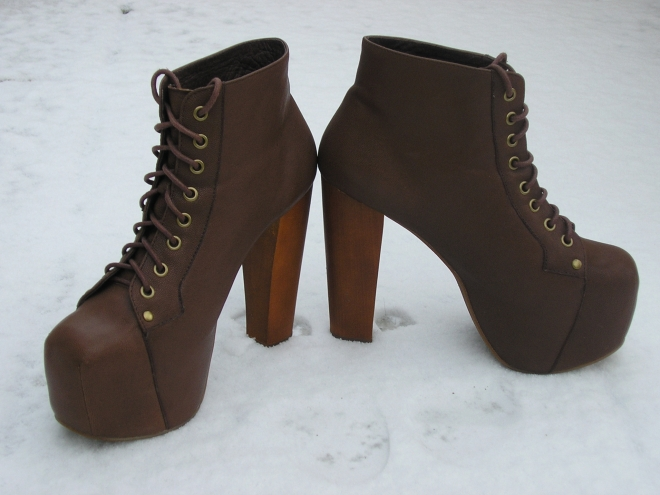Jeffrey Campbell Lita Brown
