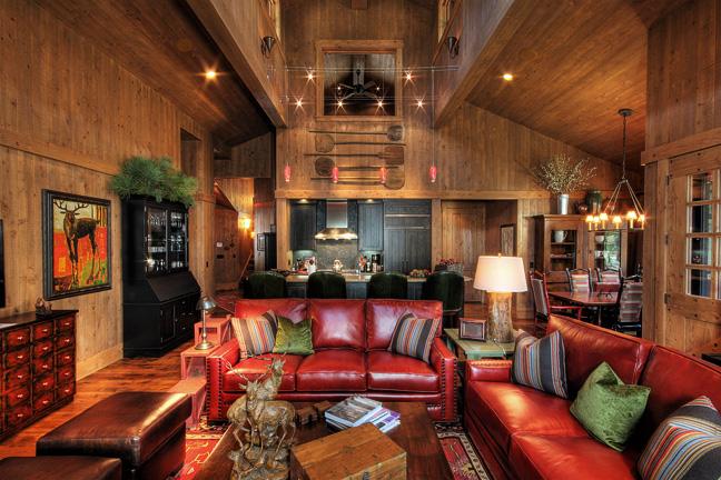 Studio v blog martis camp interior design for Lake tahoe architecture firms