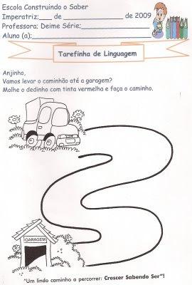 digitalizar0027 Tarefinha de linguagem para crianças