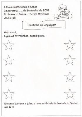 digitalizar0032 Tarefinha de linguagem para crianças