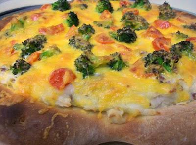 piExperiment: I Miss Pizza Luce: Baked Potato Pizza
