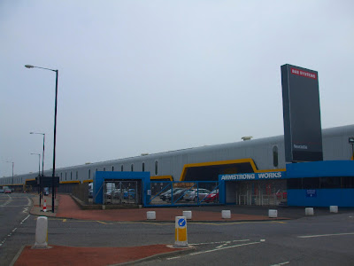BAE Systems(Armstrongs/Vickers Tank Factory) on Scotswood Road
