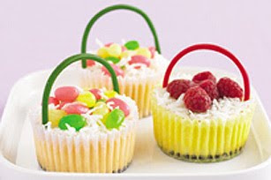 cheesecake easter baskets