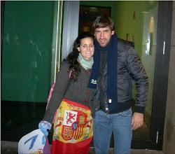 Con Raúl Gonzalez Blanco-REAL MADRID SIEMPRE