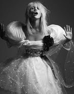 Diosa blanca.
