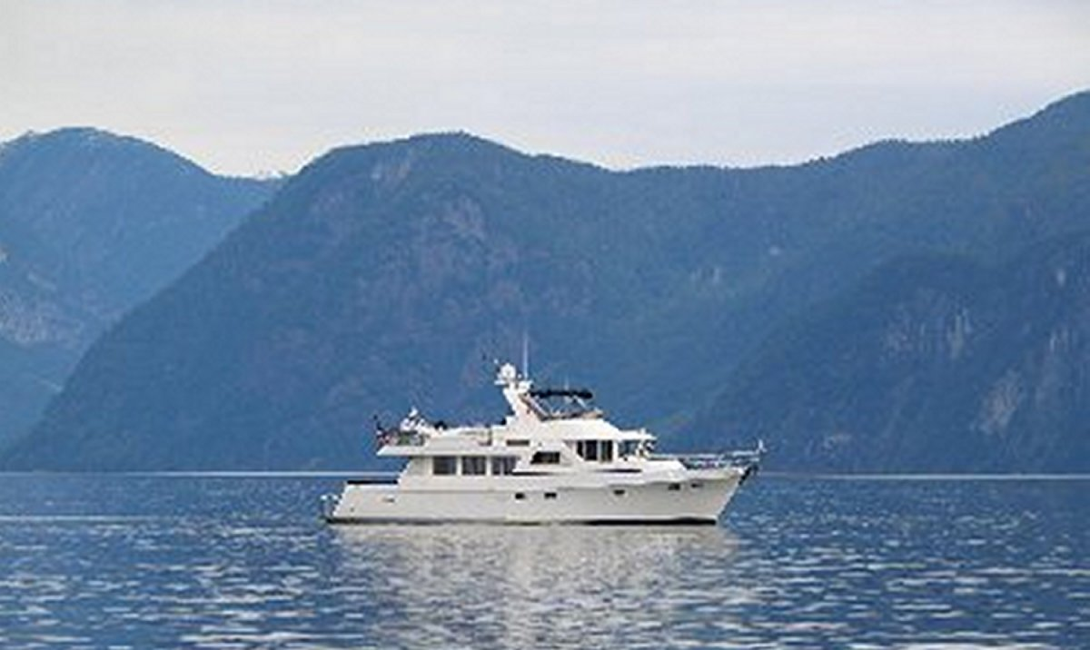 She is a 64 foot Ocean Alexander luxury yacht. Together, we cruised the San ...