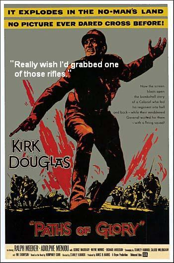paths of glory film review Paths of glory directed by: stanley kubrick starring: kirk douglas genres: war, legal drama rated the #4 best film of 1957, and #52 in the greatest all-time movies (according to rym users.