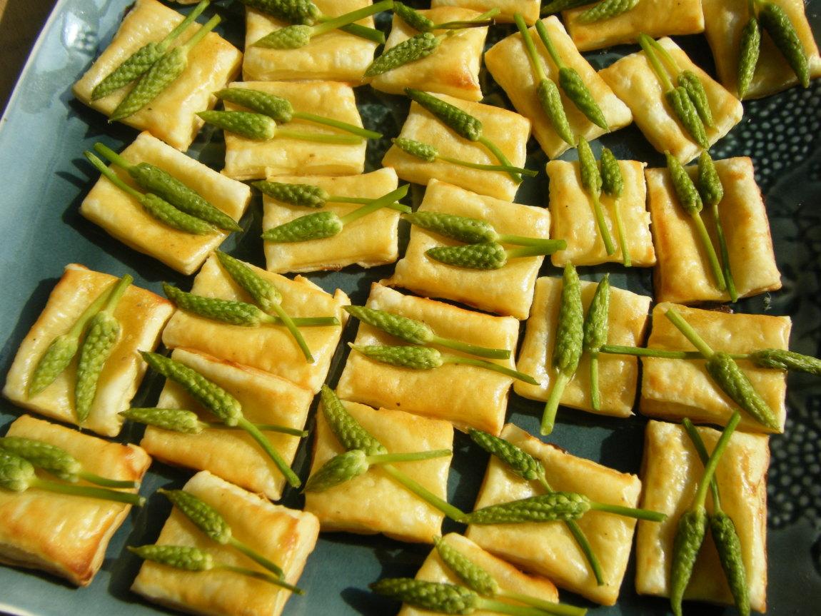 Dans mon assiette Toasts dasperges des bois ~ Asperge Des Bois