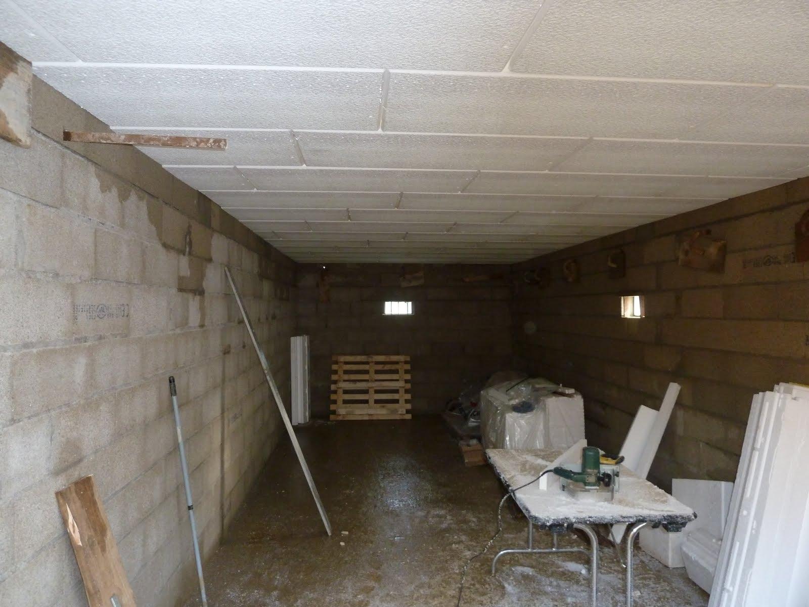 La maison du bonheur de m line tilan c line et beno t week end du 22 23 janvier 2011 fin du - Isoler plafond garage polystyrene ...