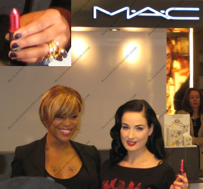 eveditacloseupevesnails NYC Beauty Tour   MAC AIDS Fund Celebration