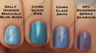 blueauraglamour+copy China Glaze OMG 2BKEWL Comparisons