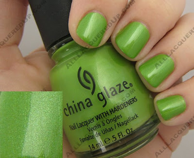treehugger China Glaze Spring 2008   Ecollection