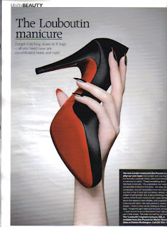 louboutin Exploring New Nail Territories