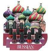 russian OPI Russian Collection Swatches
