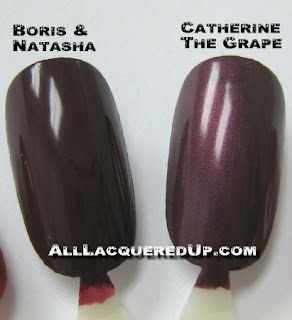 russianwheel2 OPI Russian Collection Swatches