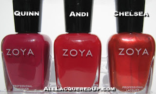 uptown1 Zoya Uptown Collection