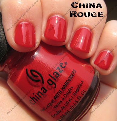 chinarouge China Glaze X Collection