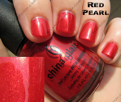 redpearl China Glaze X Collection