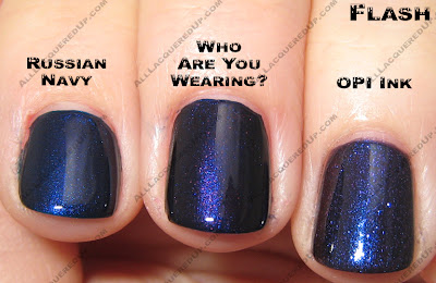 waywcompflash OPI Blue Comparisons