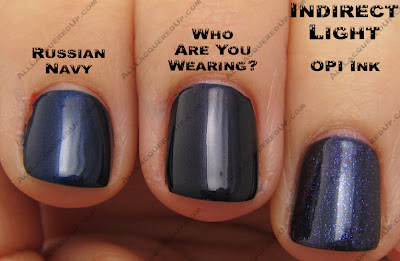 waywcompind OPI Blue Comparisons