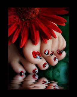ladybugtoes Fanatic Feedback   Toenail Art?