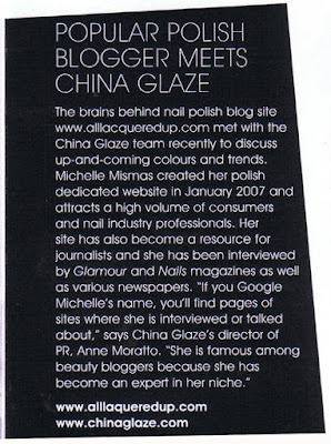 scratch magazine all lacquered up china glaze Im In The UK Nail Magazine   Scratch