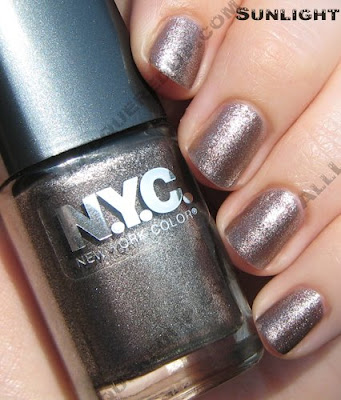 nyc new york color molten metal sunlight NYC New York Color Nail Glossies Fall 2008