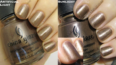 china glaze, fall 2008, nail polish, nail lacquer, nail color, rodeo diva, prize winning mare