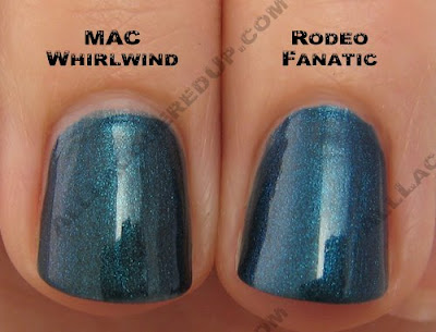 china glaze rodeo diva rodeo fanatic mac whirlwind China Glaze Rodeo Diva   Flannel Fixation