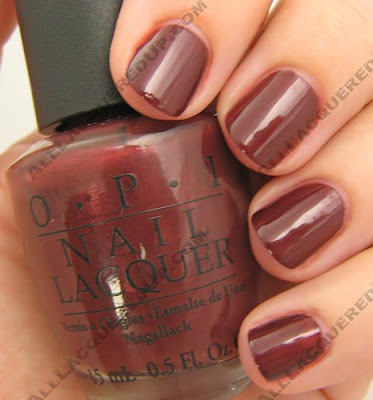 OPI, OPI France, OPI La Collection De France, La Collection De France, Fall 2008, Nail Polish, Nail Color, Nail Colour, Nail Lacquer, I'm Fondue Of You