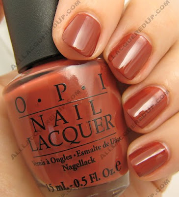 OPI, OPI France, OPI La Collection De France, La Collection De France, Fall 2008, Nail Polish, Nail Color, Nail Colour, Nail Lacquer, Crepes Suzi-ette