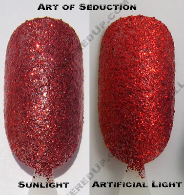 color club, glitter vixen, art of seduction, fall 2008, nail polish, nail lacquer, nail color, nail colour, manicure, pedicure