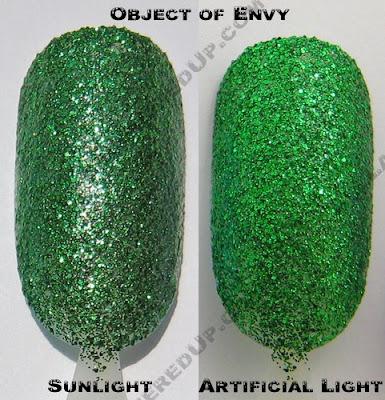 color club, glitter vixen, object of envy, fall 2008, nail polish, nail lacquer, nail color, nail colour, manicure, pedicure