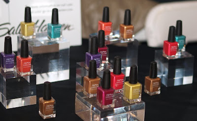 tracy reese, sally hansen, spring 2009, nail polish, nyfw, mercedes-benz fashion week, new york fashion week
