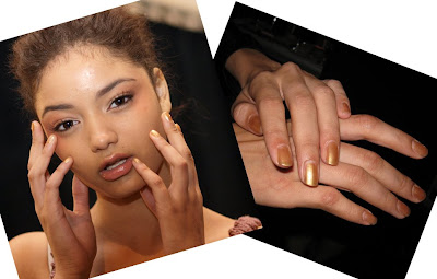 sana soegaard belal, tracy reese, sally hansen, spring 2009, nail polish, nyfw, mercedes-benz fashion week, new york fashion week